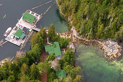 broughton-archipelago-paddlers-inn-aerial-accommodation-sointula-british-columbia