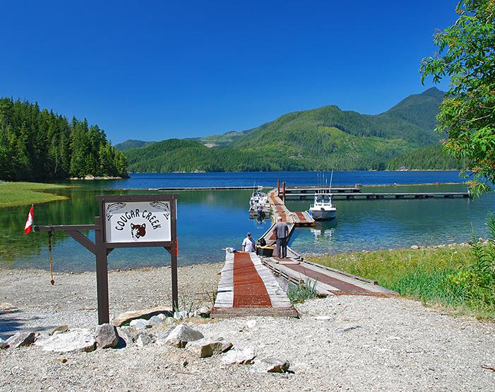 Cougar Creek Rec Site, Vancouver Island